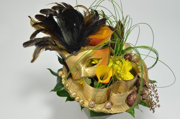 fleuriste-montpellier-juvignac-masque de fetes