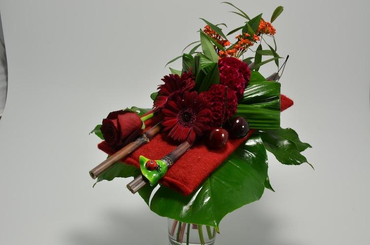fleuriste-montpellier-juvignac-rouge