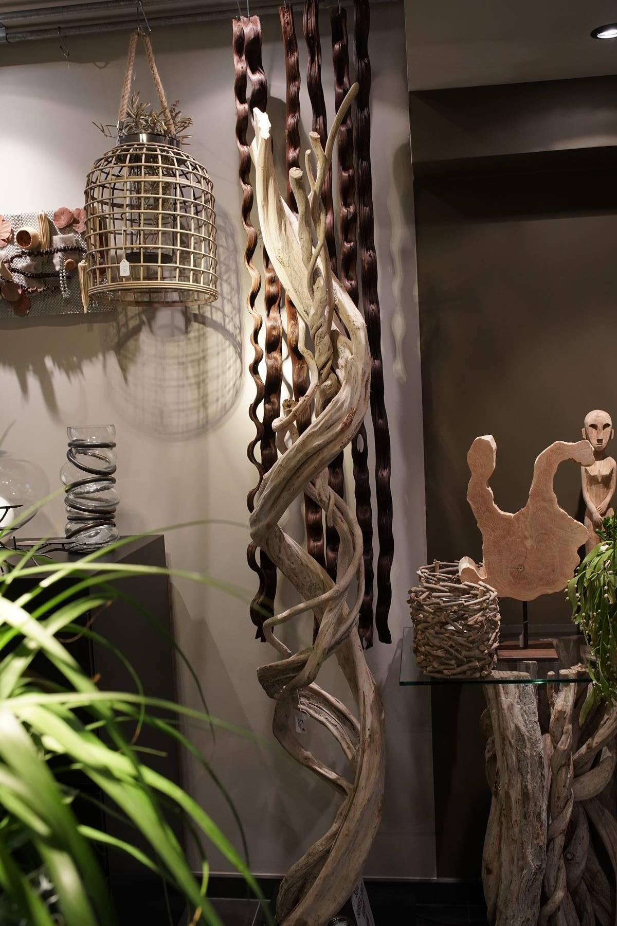lianes-bois naturel exotique